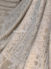 Load image into Gallery viewer, Mukaish and Chikankari Hand Embroidered Lehenga Set - Dress365days