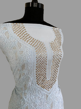 Load image into Gallery viewer, Powder Blue Mukaish Chikankari Suit - Dress365days
