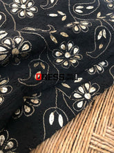 Load image into Gallery viewer, Black Gota Patti Chikankari Dupatta
