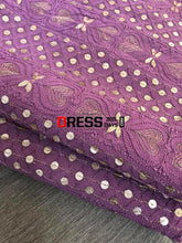 Load image into Gallery viewer, Dusty Mauve Gota Patti Chikankari Suit Suits