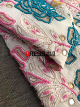 Load image into Gallery viewer, Hand Embroidered Multicolour Pearls Chikankari Suit Suits