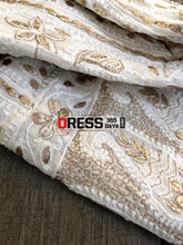 Load image into Gallery viewer, Ivory Gota Patti Chikankari Anarkali Suit