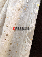 Load image into Gallery viewer, Ivory Kamdani & Pearl Chikankari Suit Suits