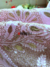Load image into Gallery viewer, Light Pink Gota Patti Chikankari Lehenga Skirt