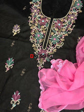 Load image into Gallery viewer, Organza Beads And Parsi Gara Suit Chikankari Suits