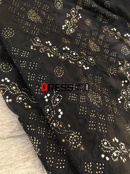 Organza Kamdani Lucknowi Chikankari Suit Suits