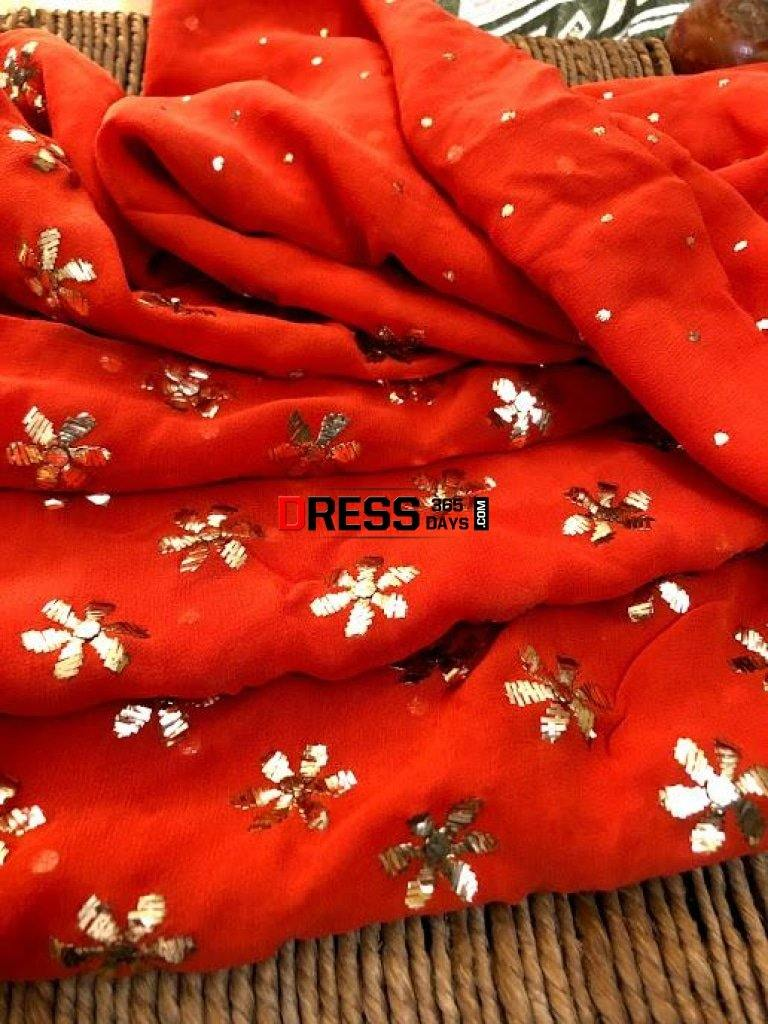 Party Wear All Over Mukaish Suit Chikankari Suits