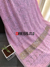 Load image into Gallery viewer, Pink Gota Daaman Chikankari Suit Suits