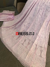 Load image into Gallery viewer, Powder Pink Lucknowi Chikankari Anarkali Suit