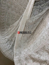 Load image into Gallery viewer, Pure Georgette Lucknow Chikankari Lehenga Set