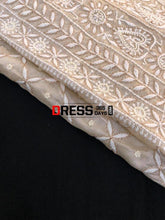 Load image into Gallery viewer, Tissue Chanderi Chikankari Suit With Beads Work Suits