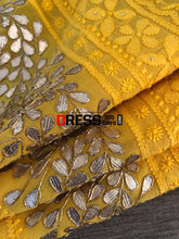 Load image into Gallery viewer, Yellow Gota Patti Chikankari Suit Suits