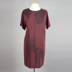breezy dress in 'wild rose' on wine color