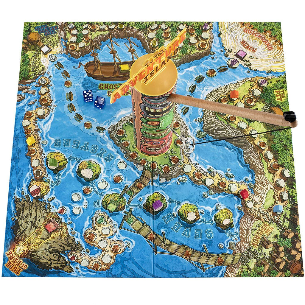 Adventure Island Ring Toss Board Game