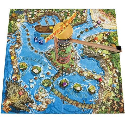 Adventure Island Tiki Toss Board Game