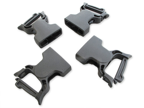 "1"" Female Quick Clip Repair Buckles 4 Pack"