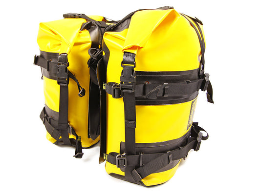Expedition Dry Saddle Bags in Yellow/Black