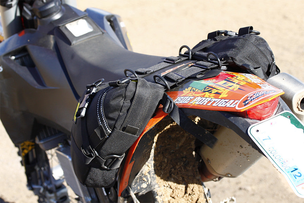 Enduro Daytripper Saddle Bags Motorcycle Luggage By