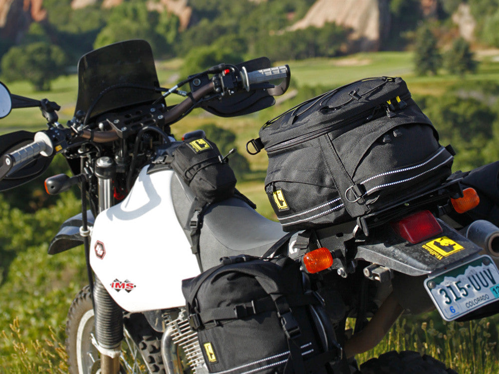 Wolf Tail Motorcycle Tail Bag By Wolfman Luggage