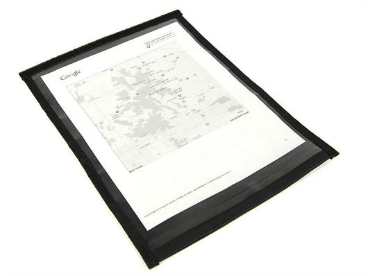 Map Pocket - Plain Paper size
