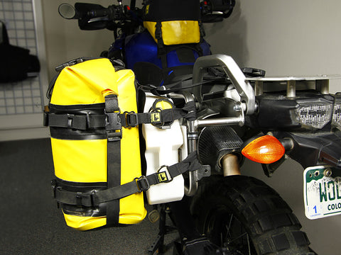 RotoPax Strap Kit as used with Pawnee Plate, RotoPax Water Pak and Expedition Saddle Bag