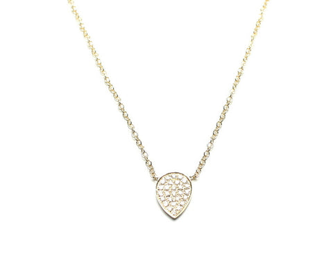 Dewy Diamond Necklace