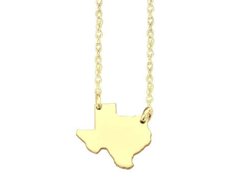 Sweet Home State Necklace