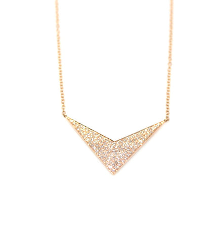 Diamond Chevron Necklace