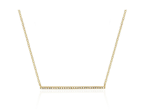 Single Bar Necklace