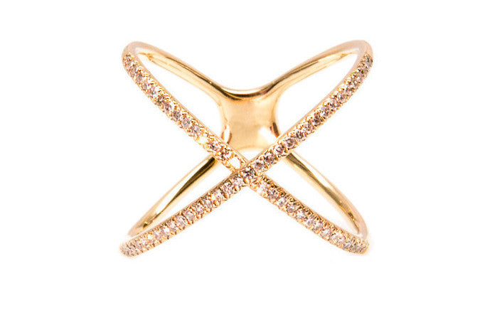 Demetri Diamond Wrap Ring