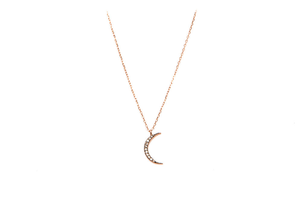 Lunar Diamond Necklace (Chain Only)