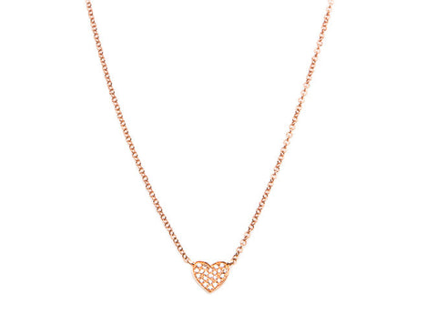 Amour Diamond Heart Necklace