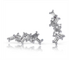 Baguette Diamond Earring Climber