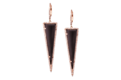 Onyx Dagger Earrings