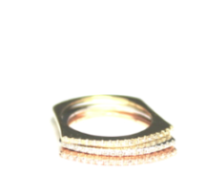Diamond Basis Stacking Rings