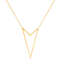 Brooklyn Double Chevron Necklace
