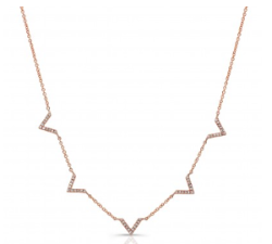 Streamline Chevron Necklace