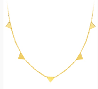 Mini Harper Triangle Necklace