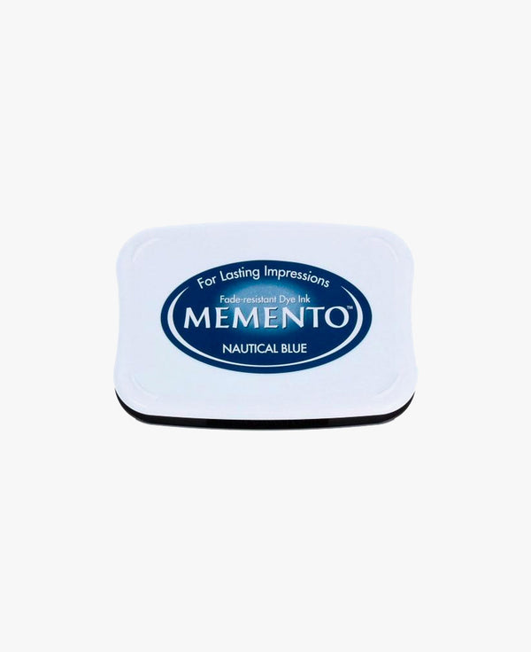 Memento Ink pad — Nautical Blue