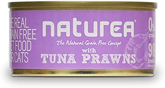 NAT. CAT WET TUNA PRAWNS 80GR