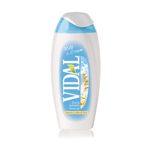 VIDAL DOCCIA 250ML MILK CREAM