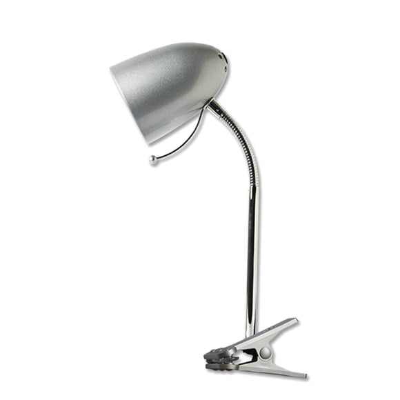 CLAMP LAMP SILVER