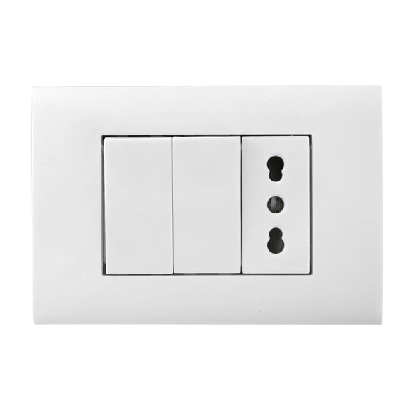 WALL COMBINATION SWITCH(SOCKET&SWICTH)