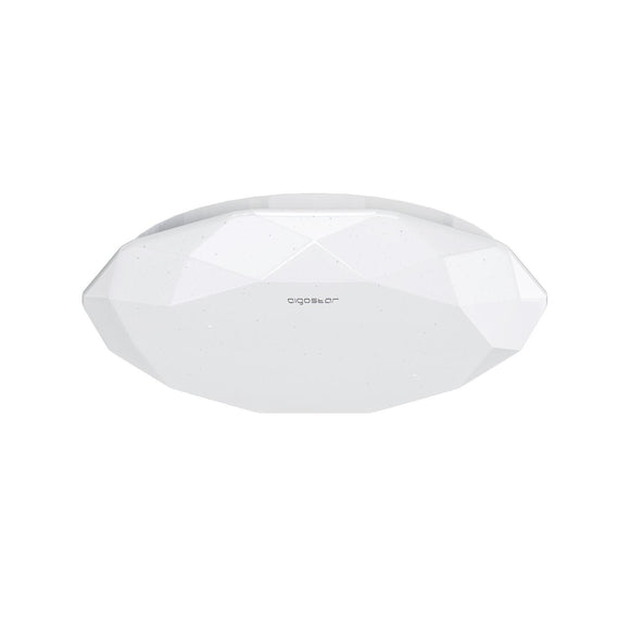 Soffitto  LED(12W,6500K,Plafoniera con lente in PC, garantisce una luminosita omogenea)