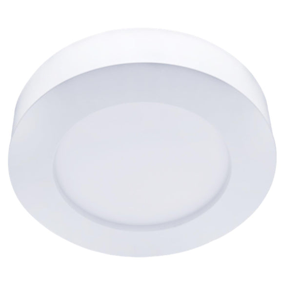 LED E6 SLIM ROUND CEILING LIGHT 16W 6000K /SURFACE MOUNTED