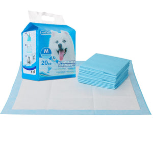 PET PAD L60*W60CM WHITE&BLUE 20PCS/BAG