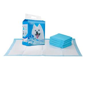PET PAD L60*W90CM WHITE&BLUE 20PCS/BAG