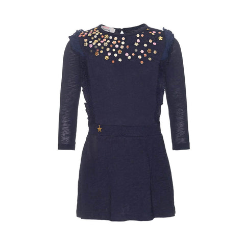 MPDress Blue with Spangles