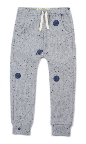 Egg Chase Pant Gray Planets