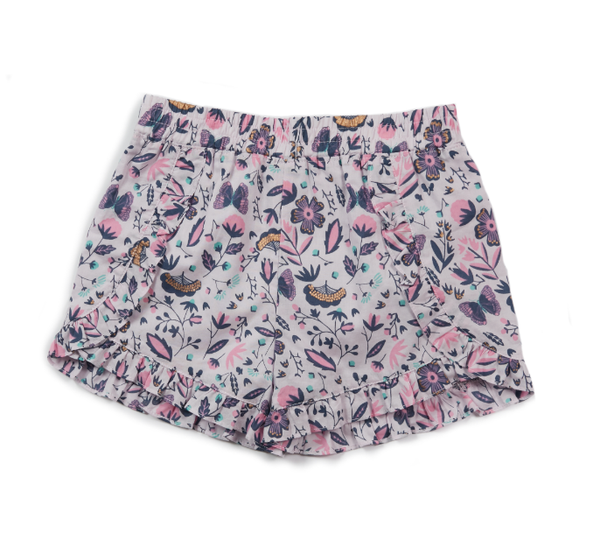 Egg Raelyn Ruffle Short Floral